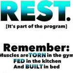Today is my rest day in the program This weekhellip