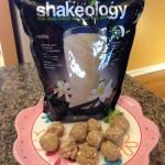Shakeology Protein Bites