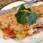 21 Day Fix Chicken Avocado Quesadilla