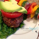 Mom's Summer Burgers - 21 Day Fix Approved