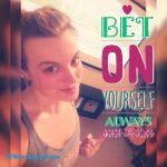 When you bet on yourself you give yourself permission tohellip