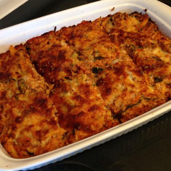 21 day fix turkey veggie packed baked ziti