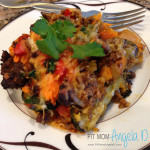 21 Day Fix Zucchini Bean-Free Loco Lasagna