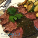 Chimichurri Flat Iron Steak - 21 Day Fix Approved