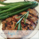 Herb Marinated Pork Loin Chop
