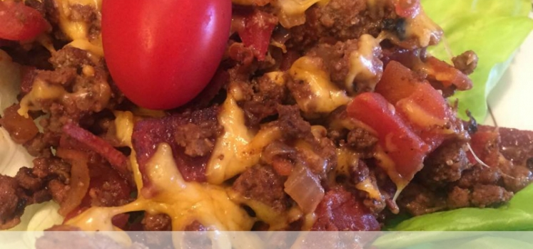 Bacon Cheeseburger Skillet