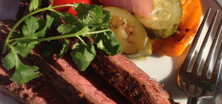 Brazilian Marinated Flank Steak