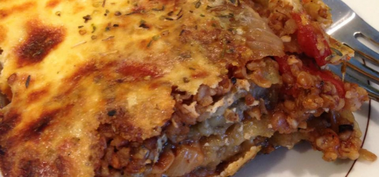 Vegetarian Moussaka (Greek Lasagna)
