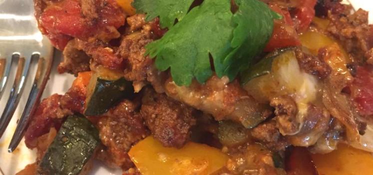 Ground Beef Taco Skillet
