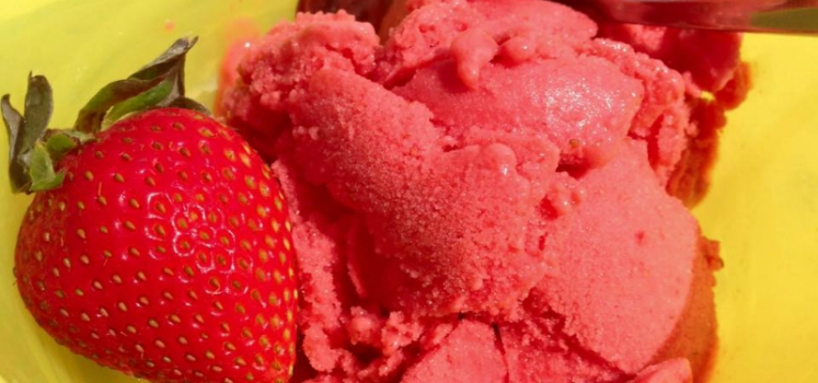 21 Day Fix Strawberry Lemonade Sorbet