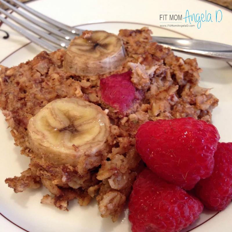 21 Day Fix Oatmeal Bake
