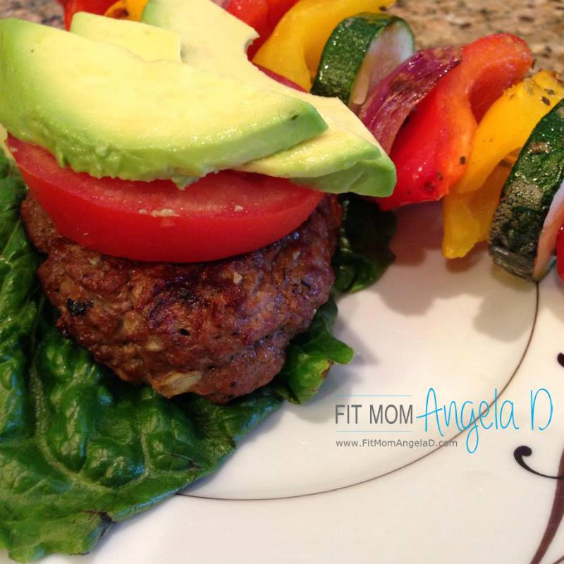 Mom's Summer Cheeseburgers – 21 Day Fix Approved