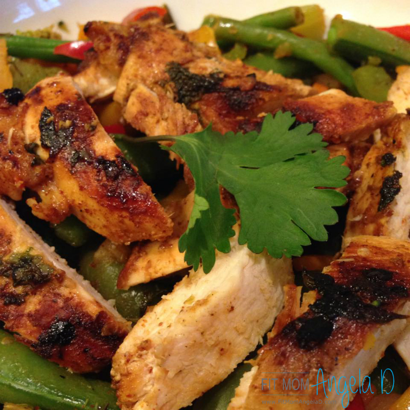 21 Day Fix Cilantro Lime Grilled Chicken