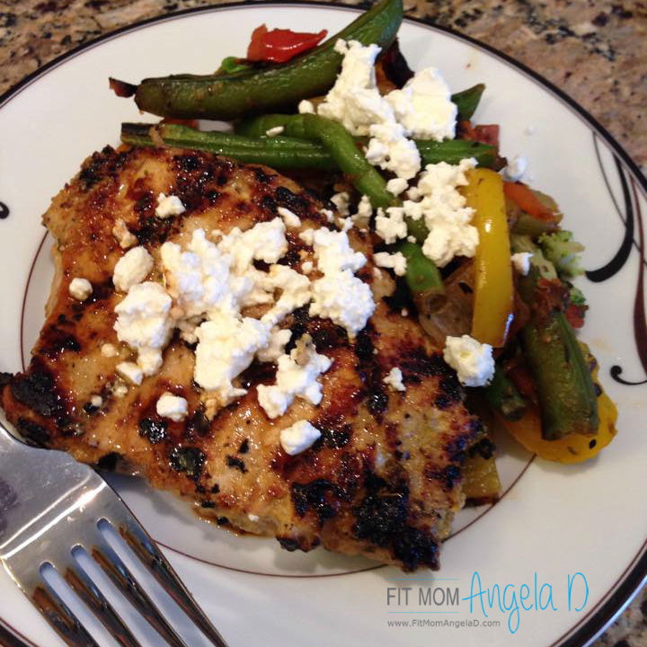 Lemon Dijon Pork Chop Marinade – 21 Day Fix Approved
