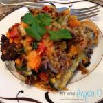 21 Day Fix Zucchini Bean-Free Loco Lasagna