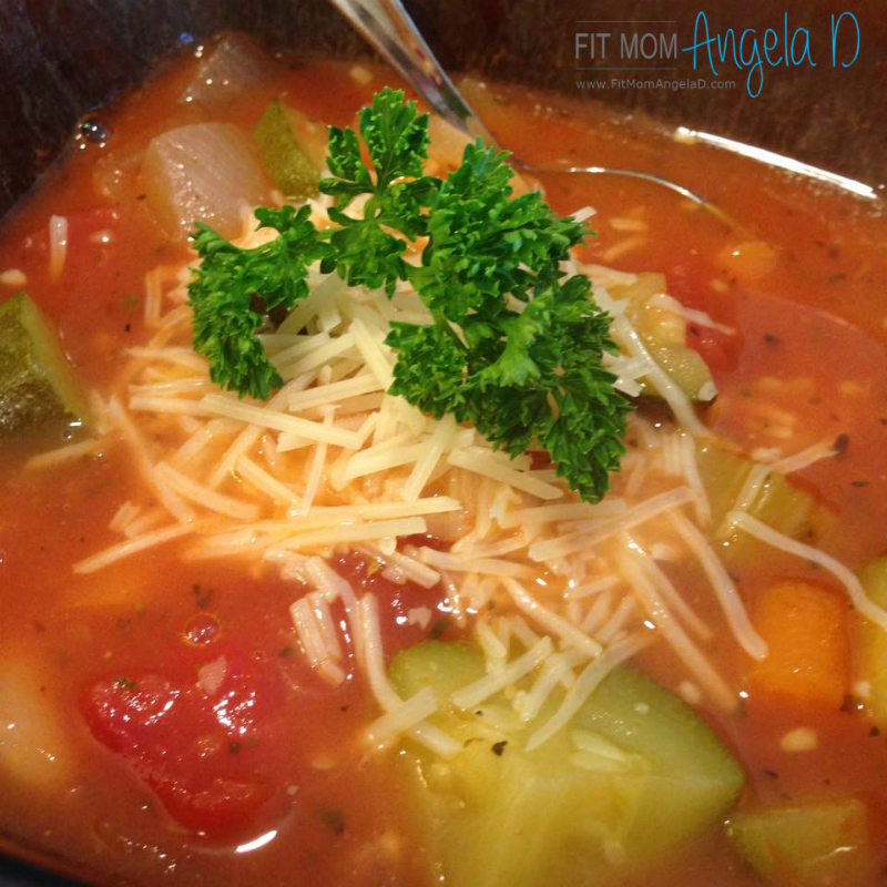 21 Day Fix Minestrone Soup