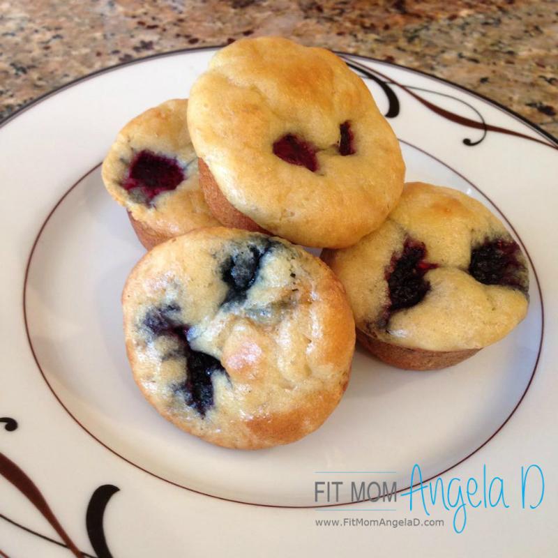 21 Day Fix Berry Pancake Mini Muffins