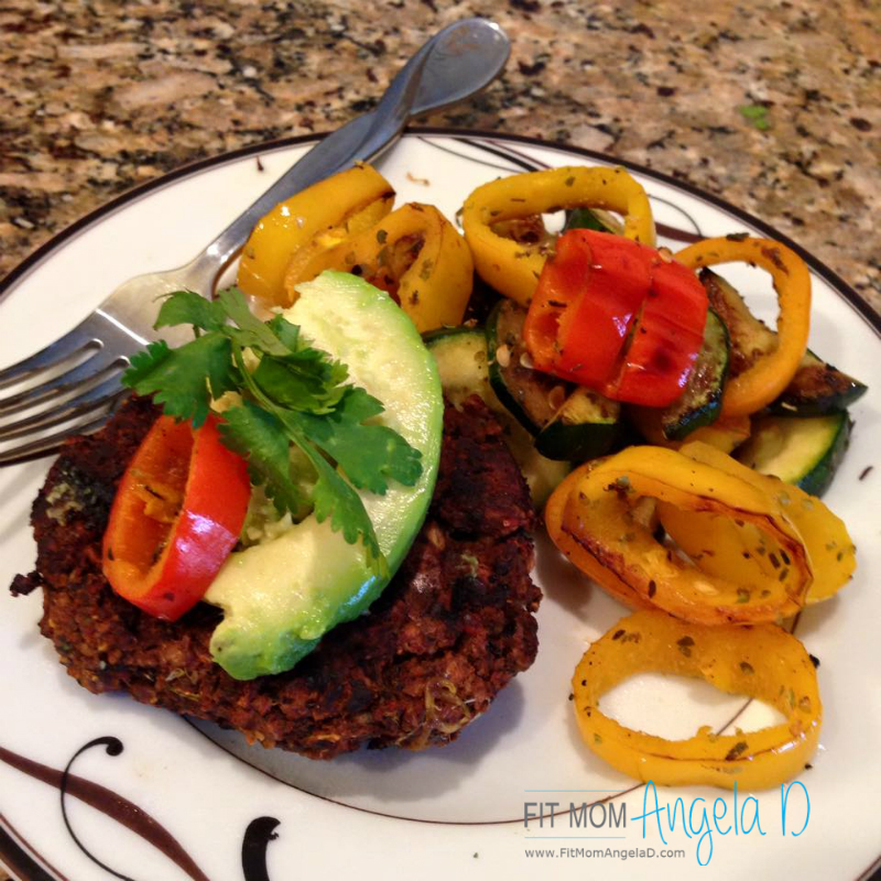 Southwest Black Bean Burgers – 21 Day Fix Approved