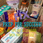 21 Day Fix Prep for Success