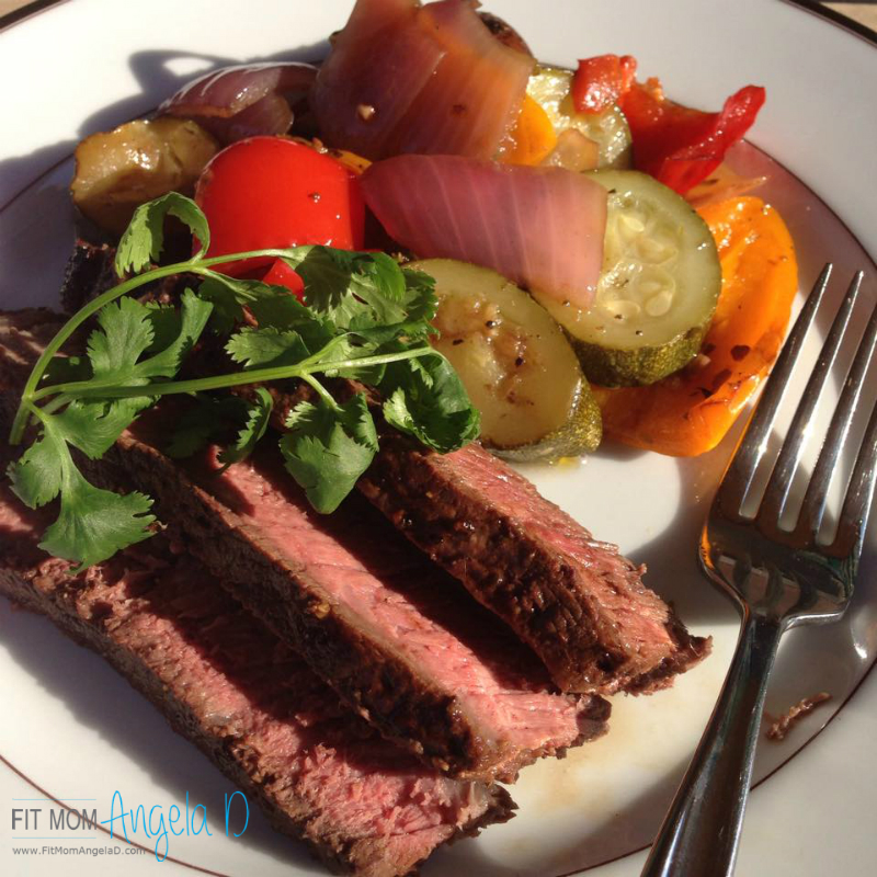 Brazilian Marinated Flank Steak