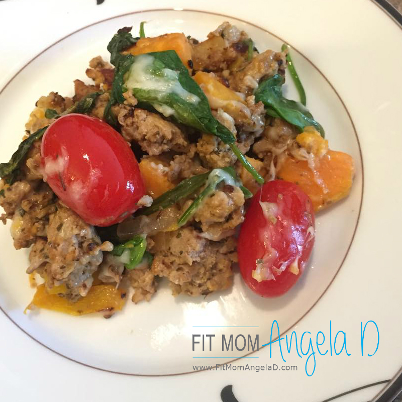 Turkey Sweet Potato Skillet – 21 Day Fix Approved