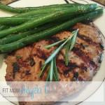 Herb Marinated Pork Loin Chop