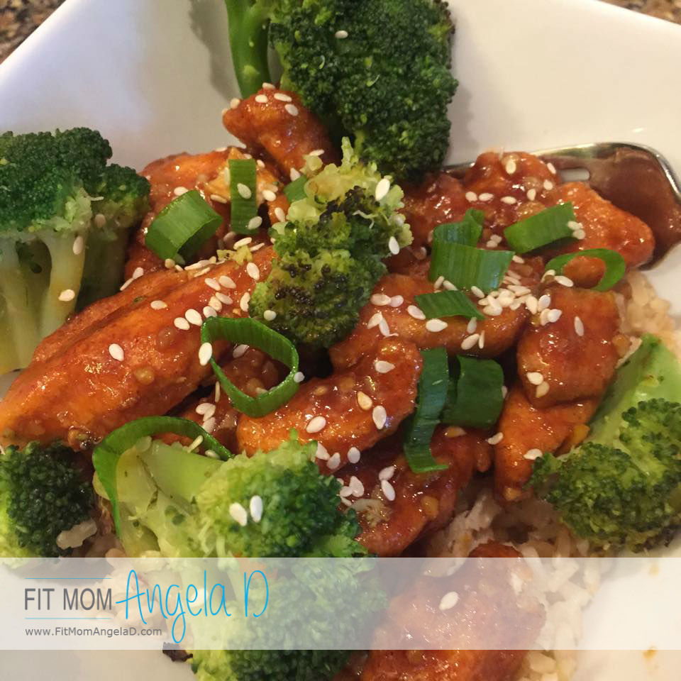 Fixed Up General Tso's Chicken