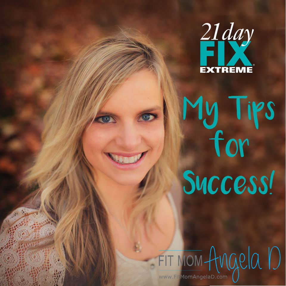 My 21 Day Fix Extreme Tips