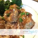 Quinoa Turkey Asian-Style Meatballs